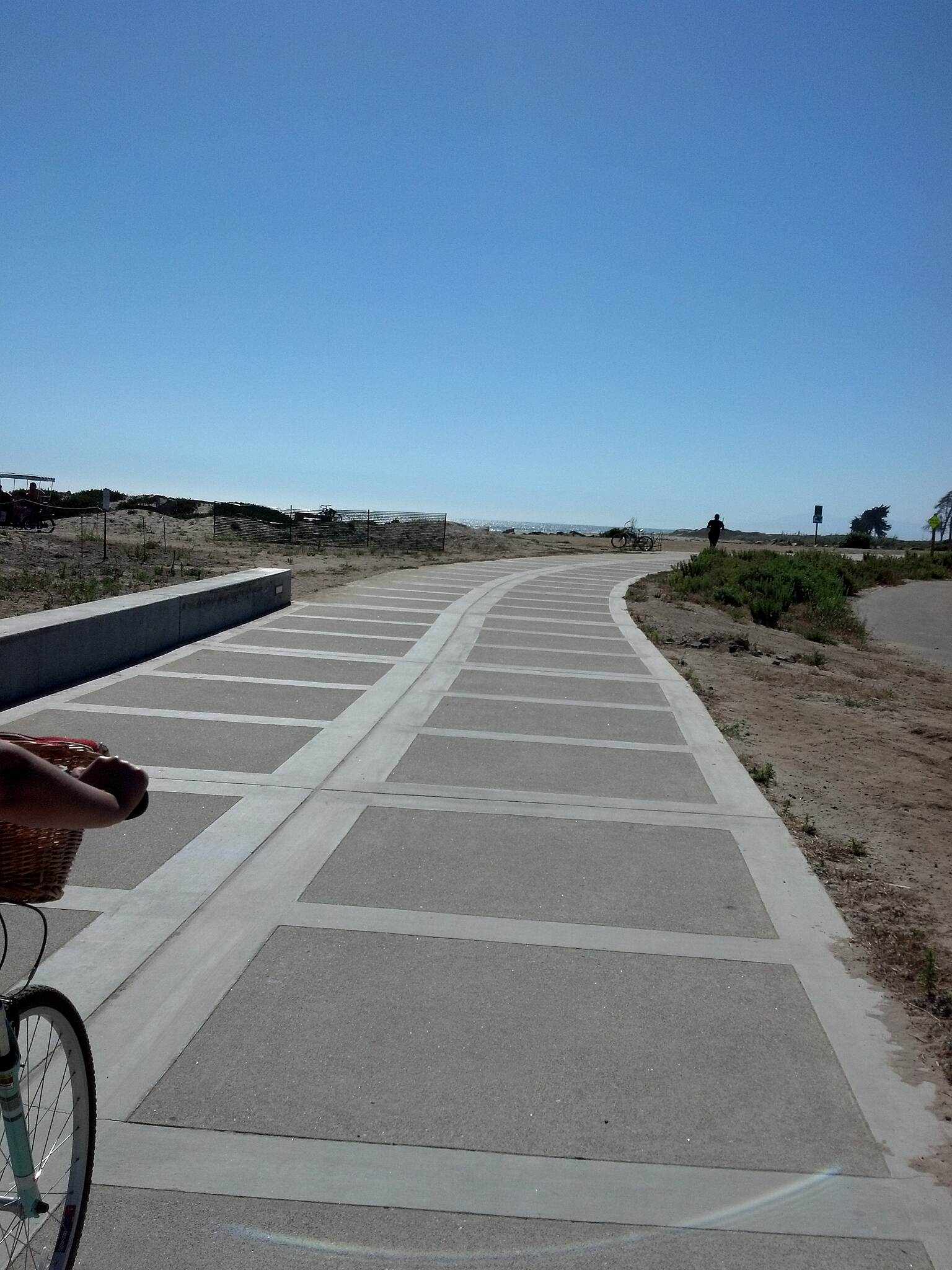 Omer Rains Coastal Bike Trail Along the Ventura Path