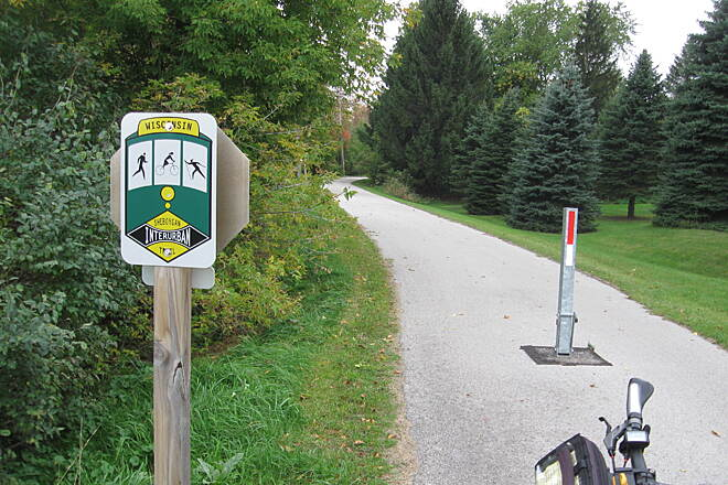 Ozaukee Interurban Trail Sheboygan County Section