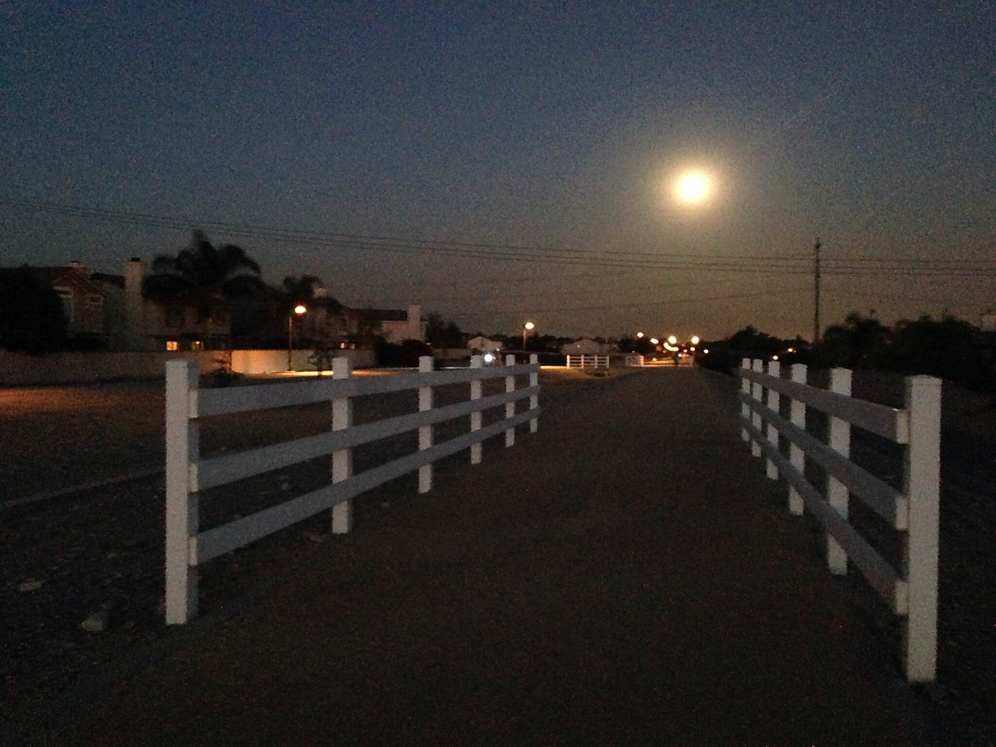 Pacific Electric Inland Empire Trail Full moon 2