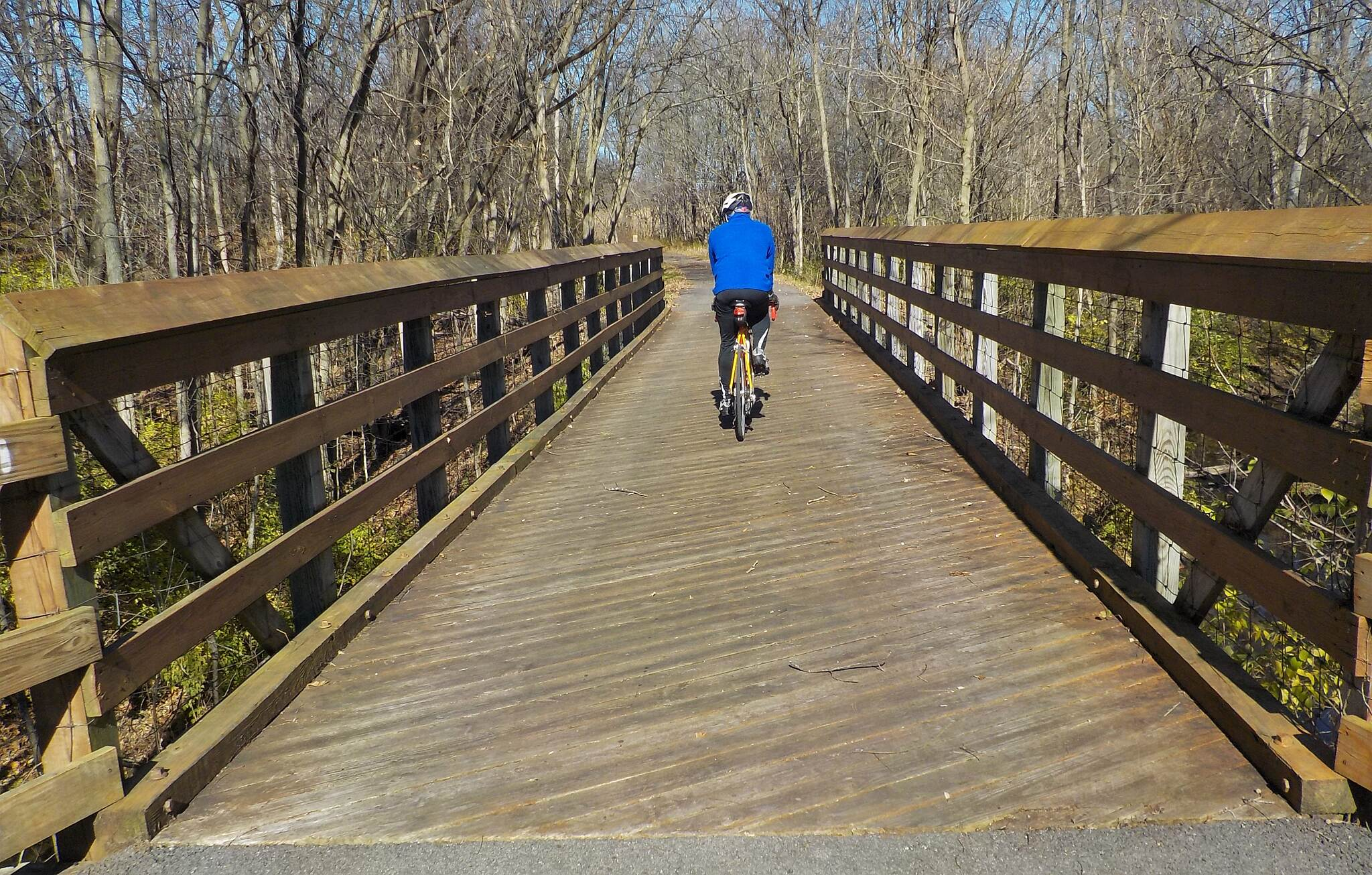 Paint Creek Recreational Trail Bridge crossing