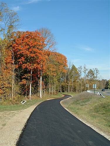Paint Creek Recreational Trail Along Veterans Pkwy Beside Veterans Pkwy 2004
