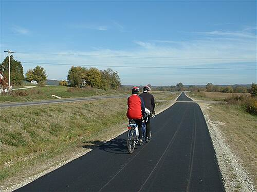 Paint Creek Recreational Trail Near Chillicothe Near Chillicothe 2004