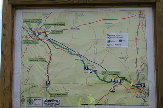 Paint Creek Recreational Trail Tri-County Triangle Tri-County Triangle