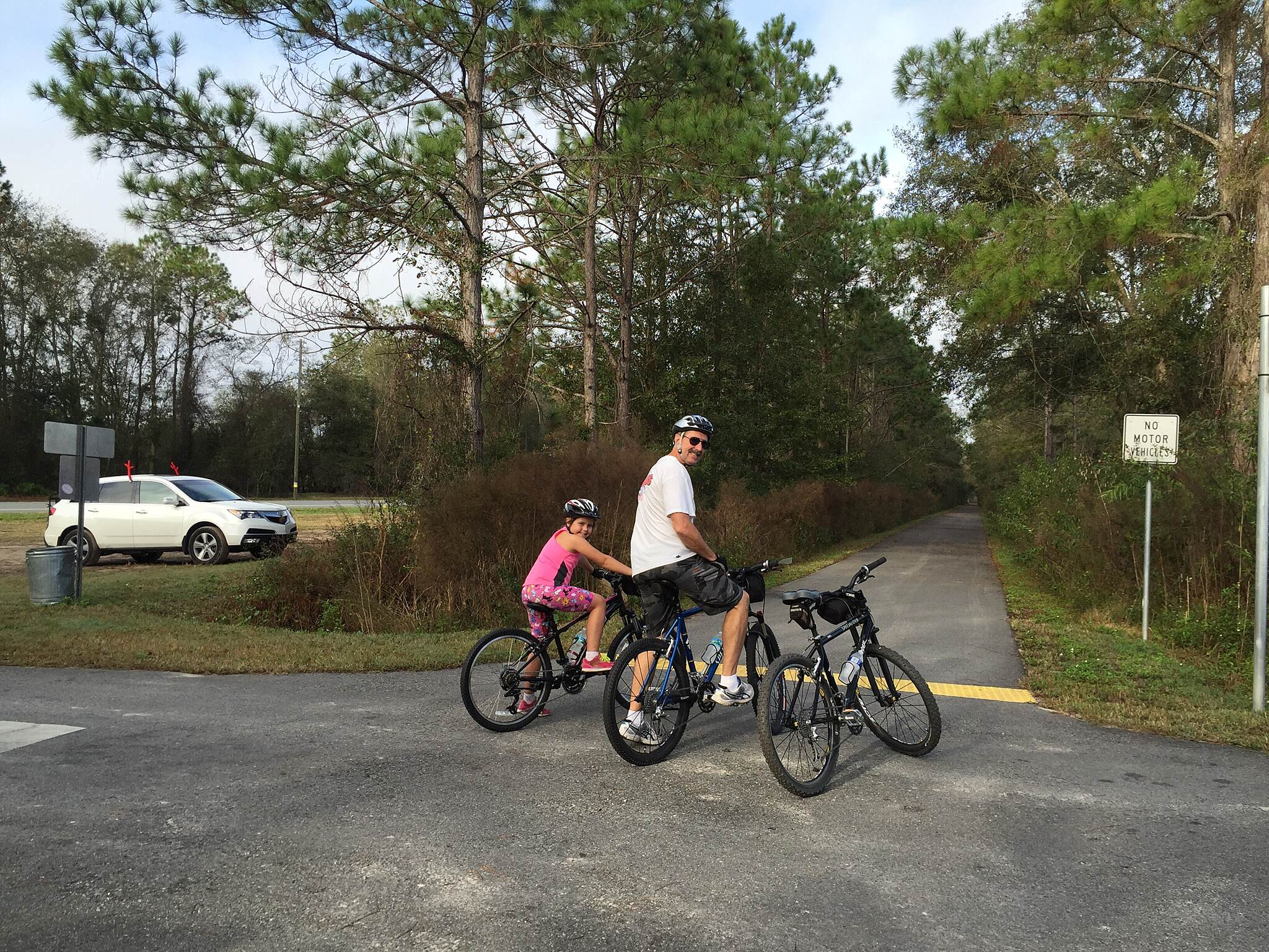 Palatka-Lake Butler State Trail Trail head at Roberts Ln