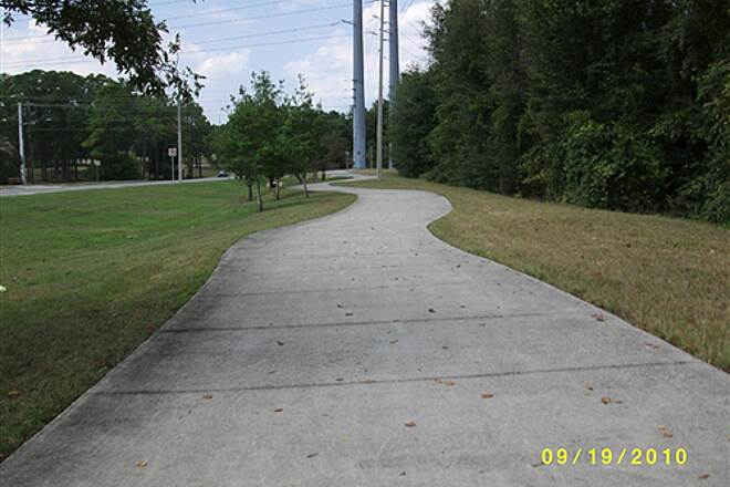 Palatka-Lake Butler State Trail PLB Trail in Keystone Heights