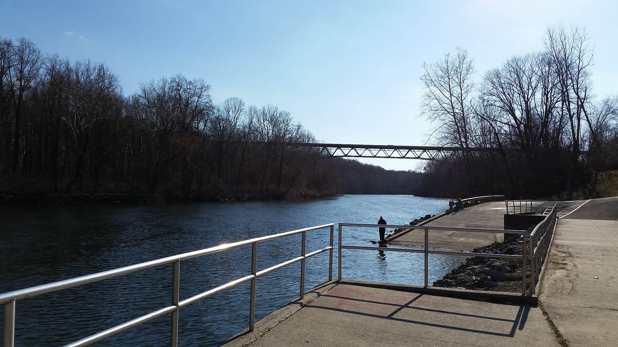 Palmer Township Recreation Trail (Towpath Bike Trail) Boat access area