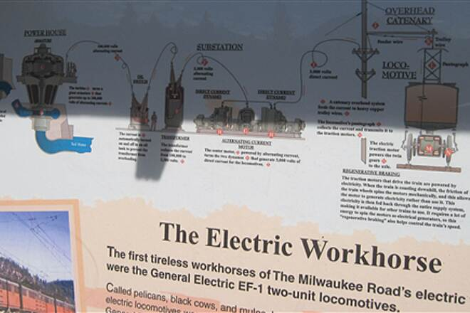 Palouse to Cascades State Park Trail JWPT - S. CLE ELUM DEPOT For the boys - how the electrical system worked