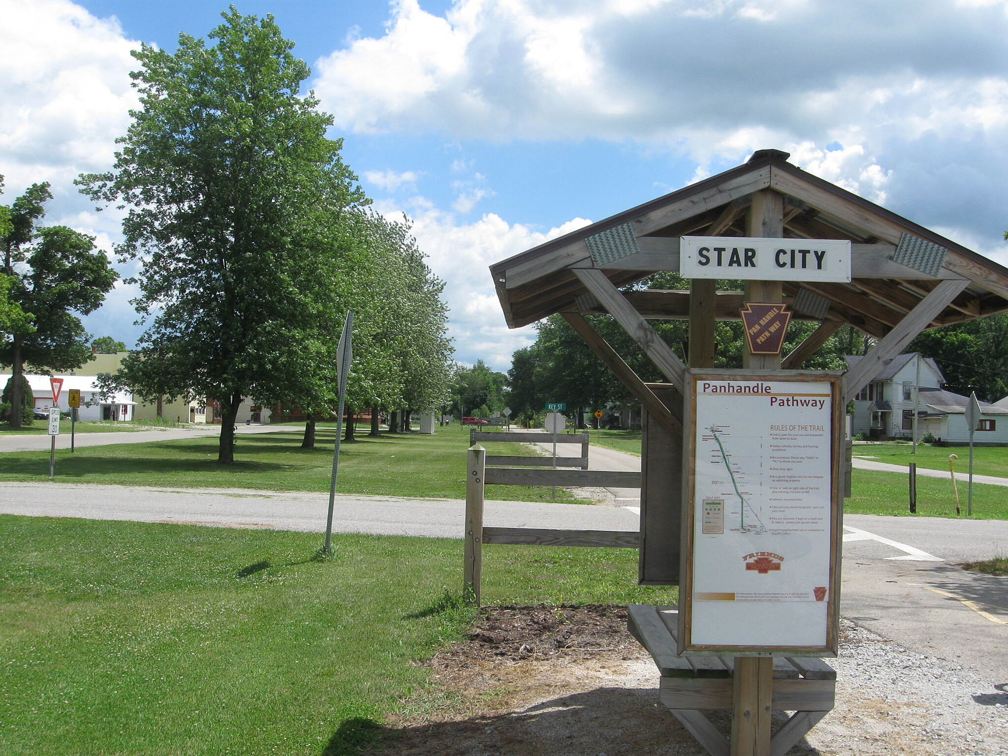 Panhandle Pathway Star City