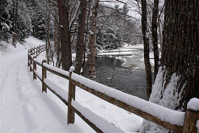 Papermill Trail winter walk