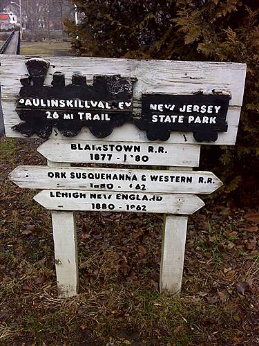 Paulinskill Valley Trail Trailhead