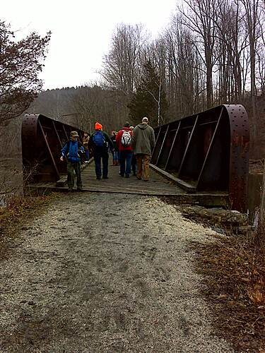 Paulinskill Valley Trail Metal Bridge