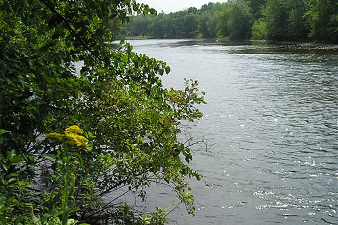 Pere Marquette State Trail Pere Marquette State Forest Trail 08082302 Muskegon River, Evart Side Loop