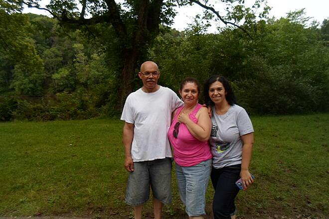 Perkiomen Trail Perkiomen Trail Family enjoying an evening stroll through Lower Perkiomen County Park. Taken July 2015.