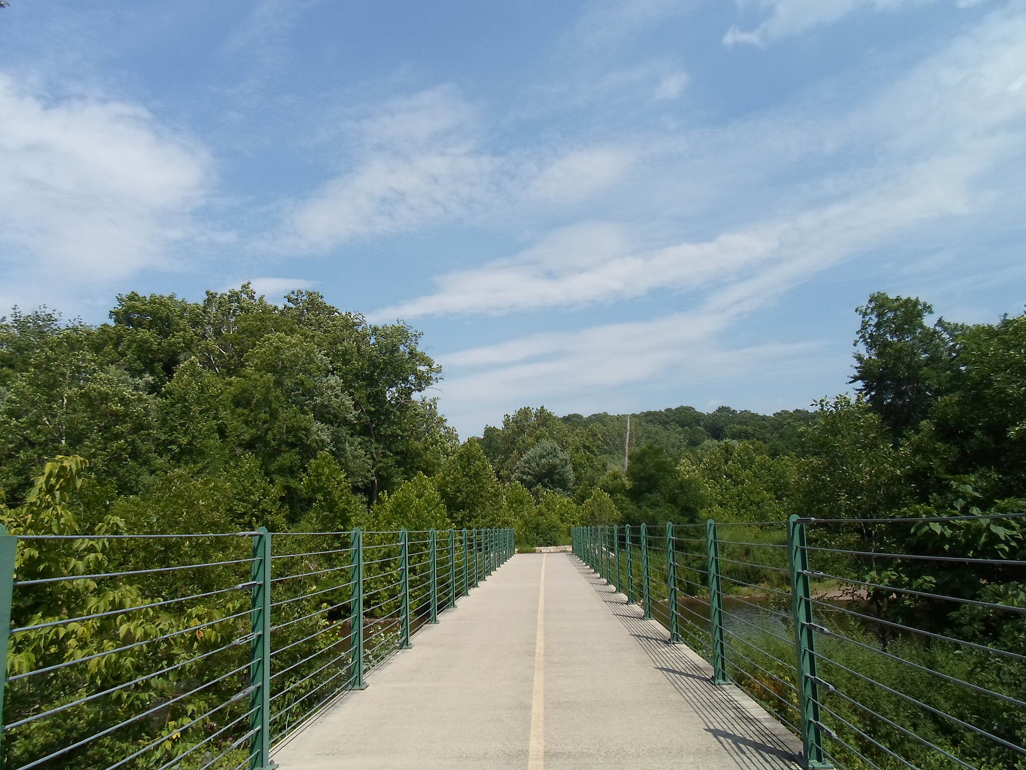 Perkiomen Trail Perkiomen Trail Trail bridge between Central Perkiomen Valley Park and Graterford. Taken July 2016.
