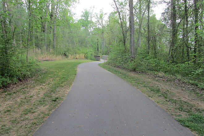 Piedmont Medical Center Trail Near 2 mile marker