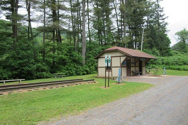 Pine Creek Rail Trail Darling Run-June 2015 Darling Run - June 2015