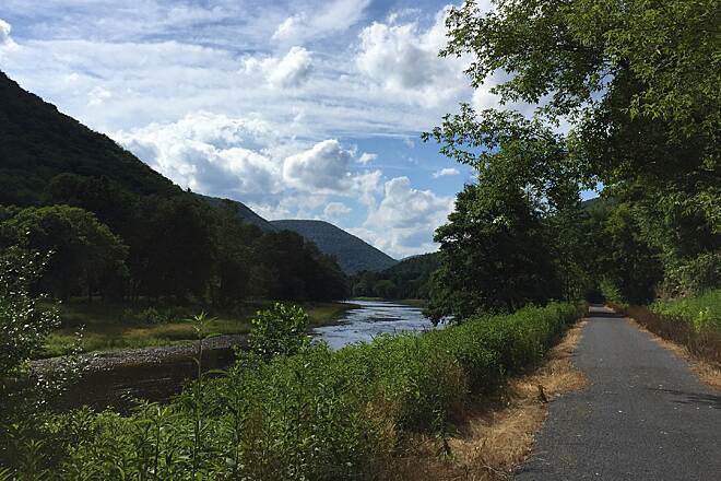 Pine Creek Rail Trail Pennsylvania Trails