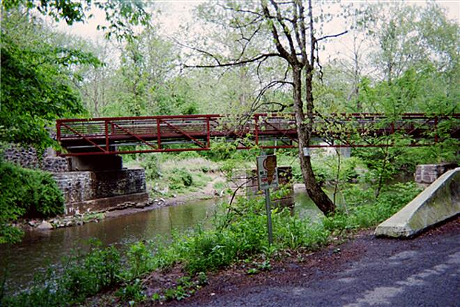 Pomeroy and Newark Rail Trail Pomeroy Trail Another pic of the trail bridge, taken from nearby Creek Road