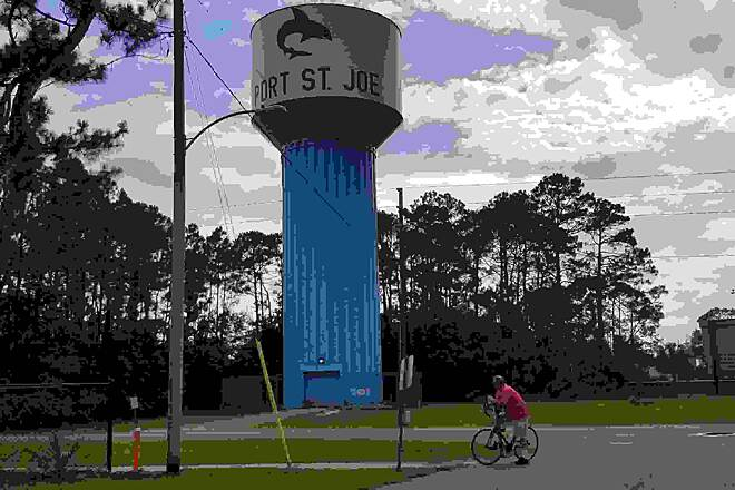 Port City Trail Water tower