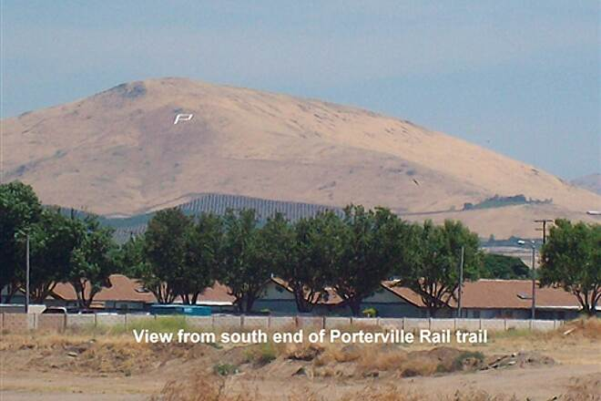 Porterville Rails to Trails Parkway Porterville Rails to Trails Parkway View to Southeast from South end of Trail