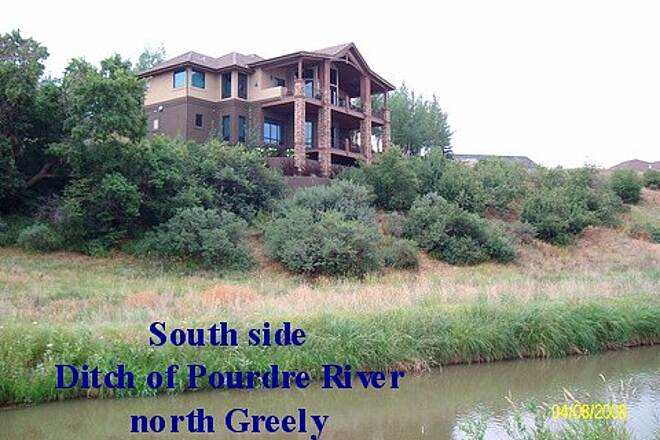 Poudre River Trail House on the Bluff