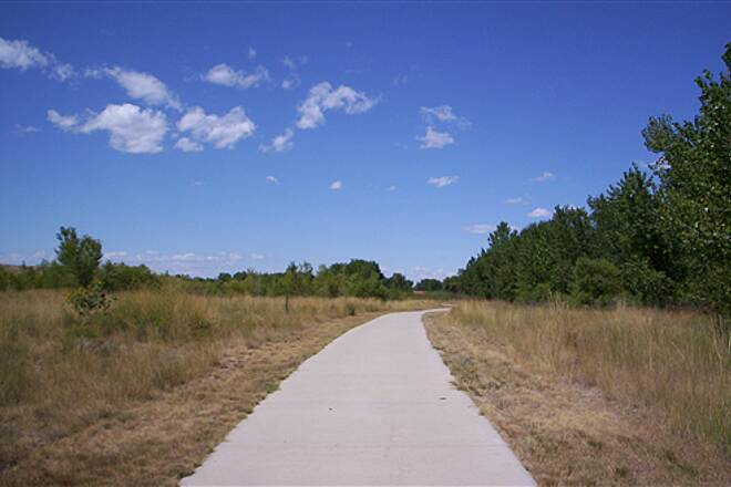 Poudre River Trail Wide Paved Trail