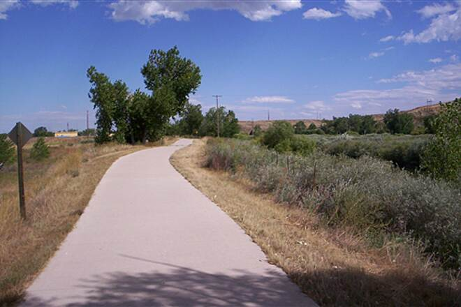 Poudre River Trail Trail Heads East to Greeley