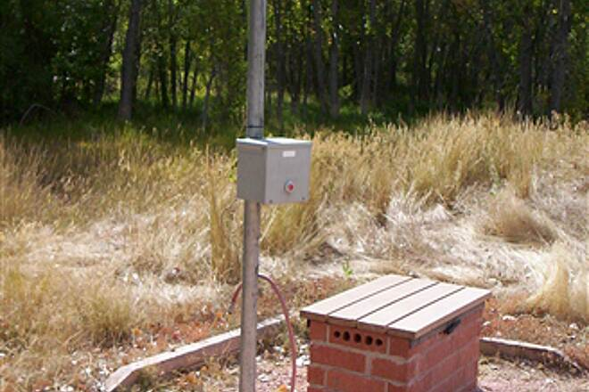 Poudre Trail (Fort Collins) Solar Powered Bike Air Pumps Along the Trail
