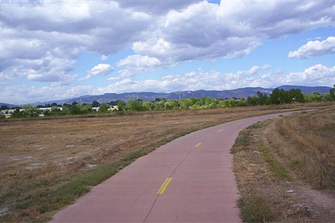 Poudre Trail (Fort Collins) Great view of Foothills