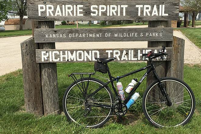 Prairie Spirit Trail State Park  Richmond, Kansas Great, peaceful rail trail.
