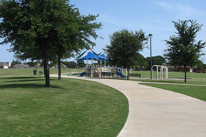 Preston Meadow Trail Preston Meadow Trail Photo provided by the City of Plano.