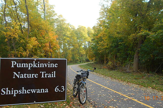 Pumpkinvine Nature Trail Fall Ride