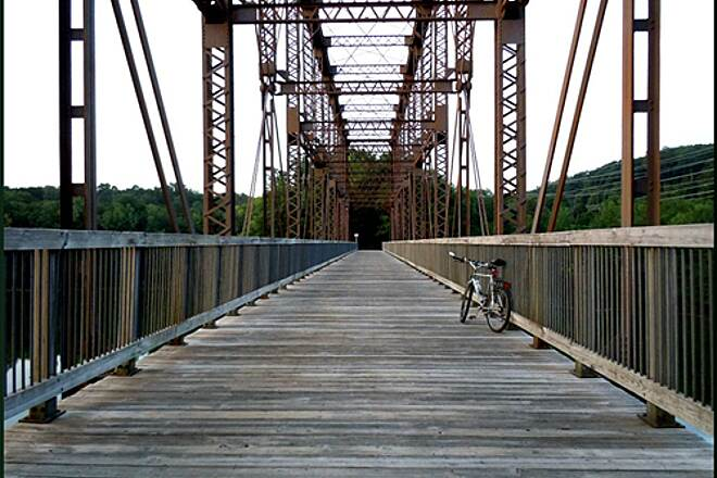 Putnam Trailway North County Trestle Bridge over New Croton Reservoir