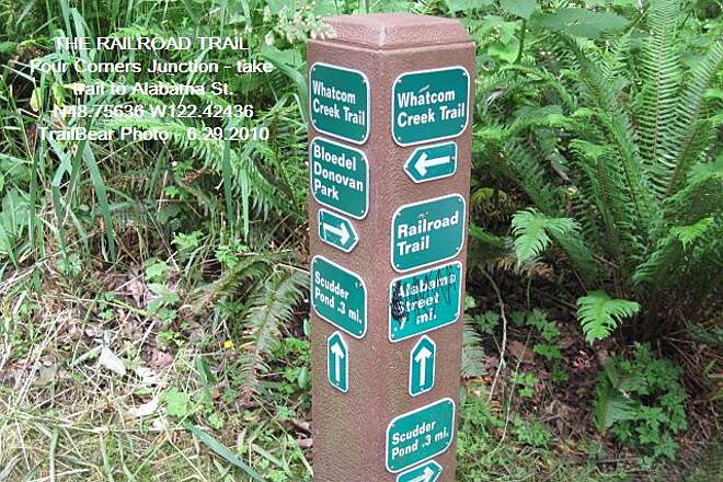 Railroad Trail (WA) THE RAILROAD TRAIL You have choices at the Four Corners.