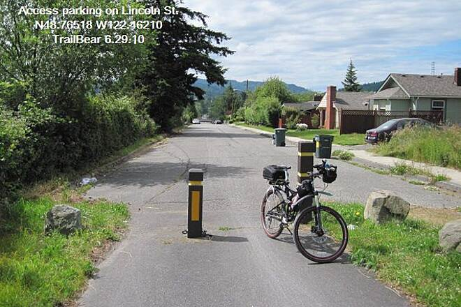 Railroad Trail (WA) THE RAILROAD TRAIL One of the trail ends beyond I-5