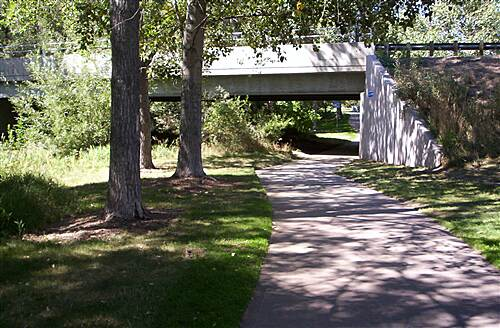 Ralston Creek Trail Indiana Underpass