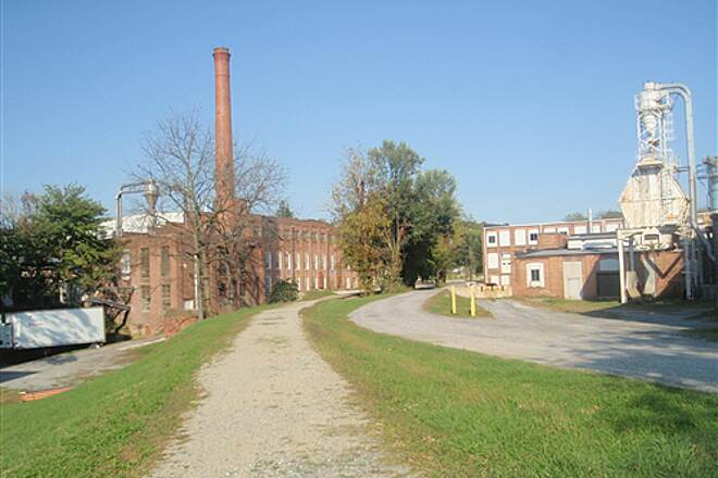 Red Lion Mile Red Lion Mile Looking east towards Franklin Street. The trail passes several factories, which serve as a testimony to Red Lion's industrial heritage.