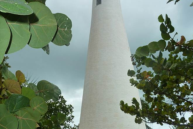 Rickenbacker Trail Lighthouse at Bill Baggs