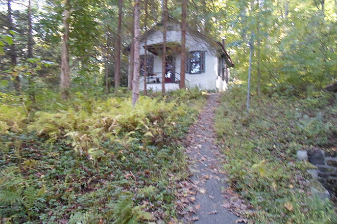 Ridley Creek State Park Trail Ridley Creek State Park Trail This old home, which may have once been a schoolhouse, is just west of the tunnel on Sycamore Mill Road.