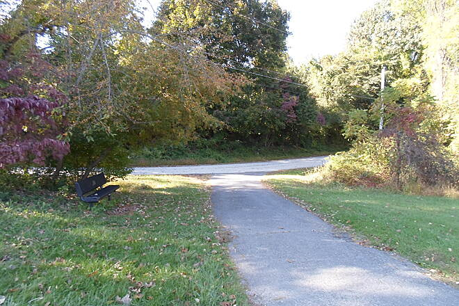 Ridley Creek State Park Trail Ridley Creek State Park Trail After following Sycamore Mills Road across the middle of the park, the trail takes a sharp turn south near the western boundary. The mile-long section from here to Forge Road is a true trail, with no motor vehicles allowed.