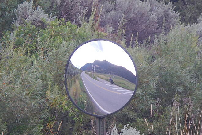 Rio Grande Trail The Mirror Taken at the intersection of Rio Grande trail and 154 Rd.