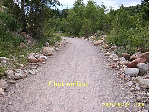 Rio Grande Trail Packed Chet Surface