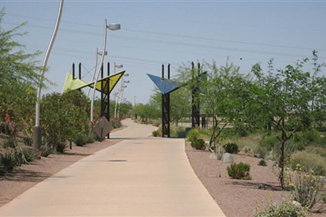 Rio Salado Pathway Salt River Trail Nice short urban trail