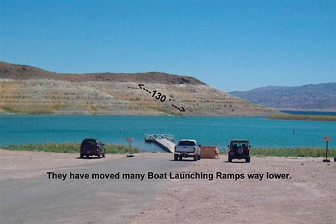 River Mountains Loop Trail River Mountains Loop Trail Lake Mead is reported 130 feet low