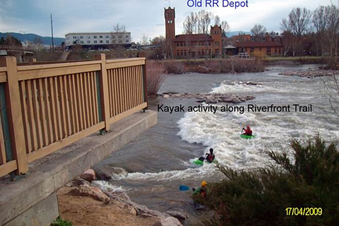Riverfront Trail (MT) Riverfront Trail River Activity