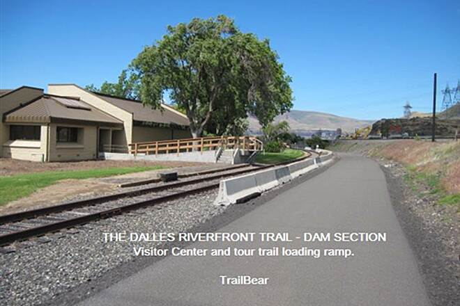 Riverfront Trail at The Dalles THE DALLES RIVERFRONT TRAIL In season, take the tour traiin to the dam.