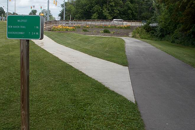 Rivergreenway Rivergreenway Maumee Pathway to New Haven trail