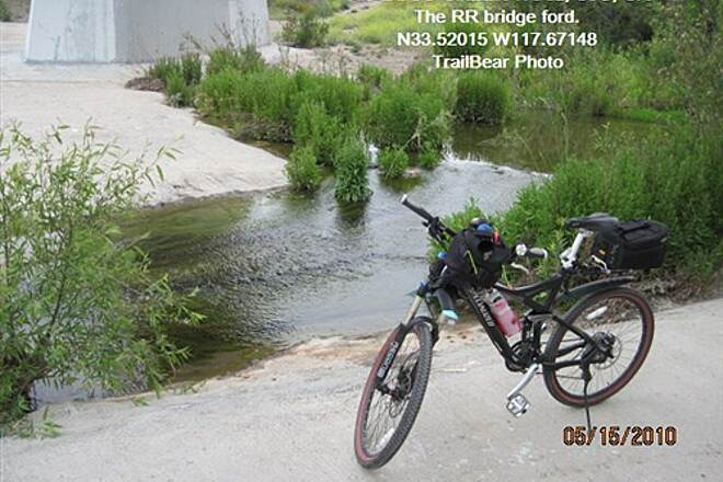 Robert McCollum Memorial Bicycle Trail TRABUCO CREEK TRAIL Give it a try.