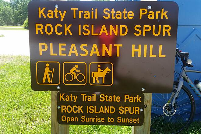 Rock Island Spur of Katy Trail State Park Katy Trail Rock Island Spur Pleasant Hill, MO