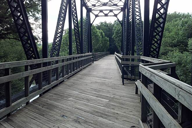 Rock Island Trail (IL) Bridge over the Spoon River